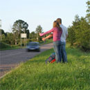 dream hitchhiking
