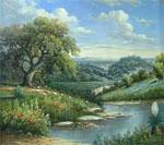 dream oil painting