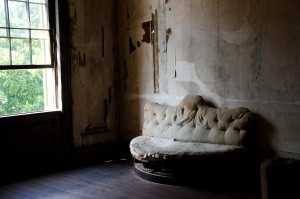 A dream about unused rooms