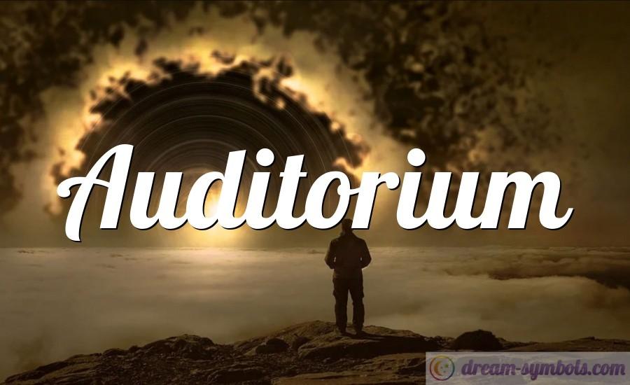 Auditorium drem interpretation