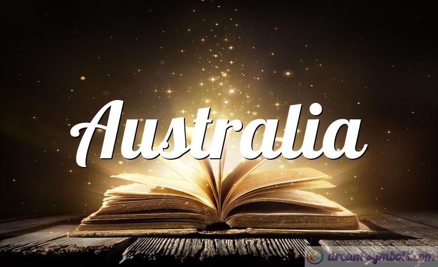Australia drem interpretation