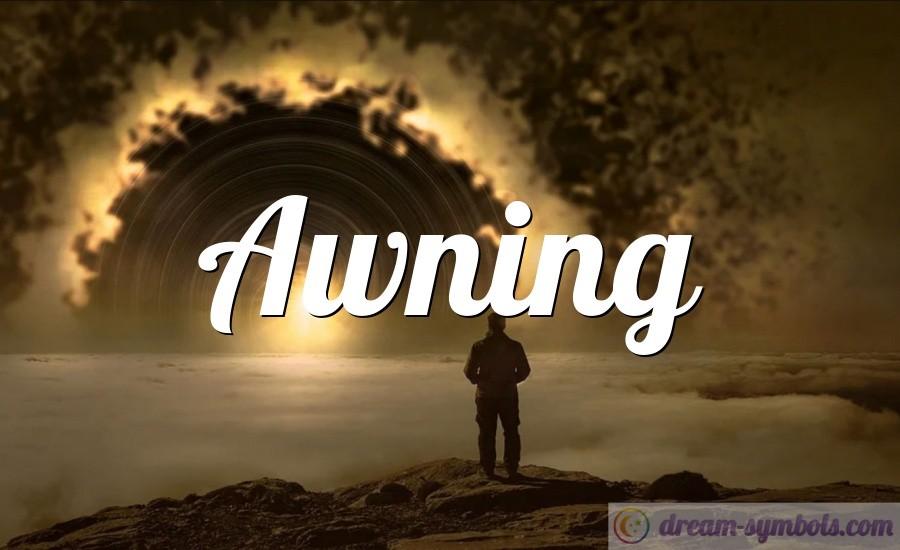 Awning drem interpretation