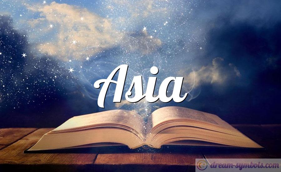 Asia drem interpretation