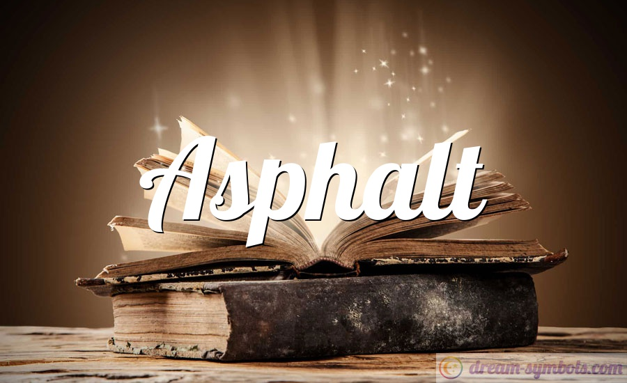 Asphalt drem interpretation